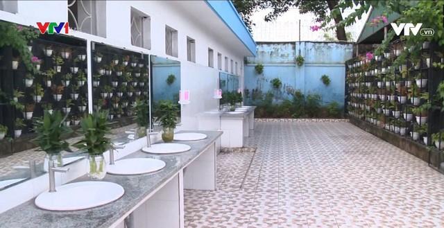 Nhà vệ sinh trường học thân thiện ở Quảng Ninh - Ảnh 1.