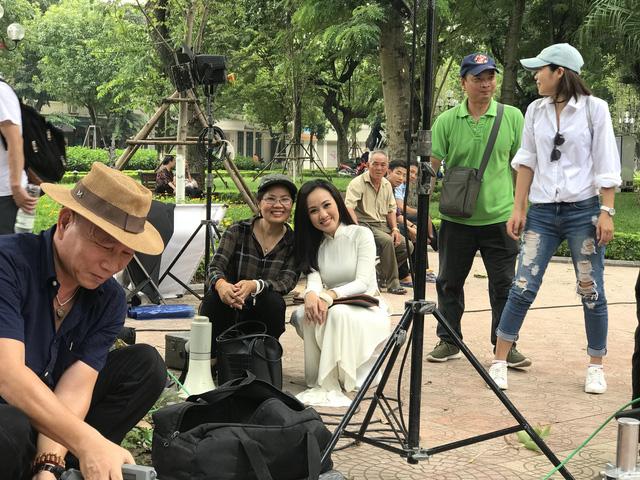 BTV Hoài Anh lần đầu tiết lộ về vai diễn với NSƯT Mạnh Cường - Ảnh 2.