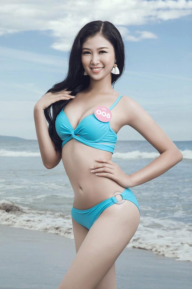 43 thí sinh Hoa hậu Việt Nam khoe bộ ảnh bikini trước đêm Chung kết - Ảnh 2.