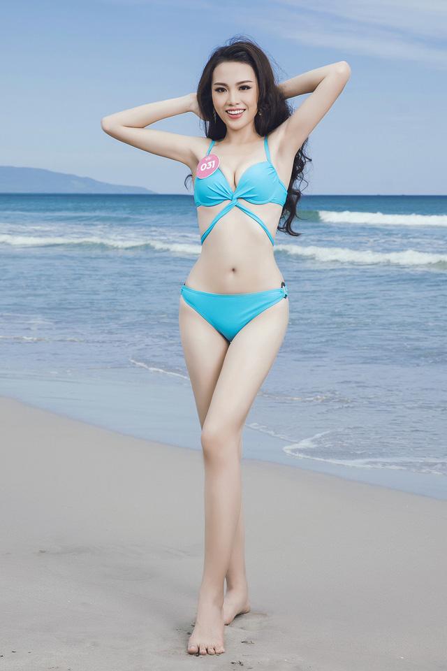 43 thí sinh Hoa hậu Việt Nam khoe bộ ảnh bikini trước đêm Chung kết - Ảnh 4.