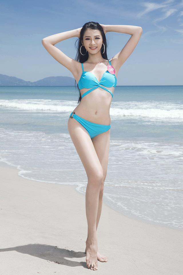 43 thí sinh Hoa hậu Việt Nam khoe bộ ảnh bikini trước đêm Chung kết - Ảnh 8.