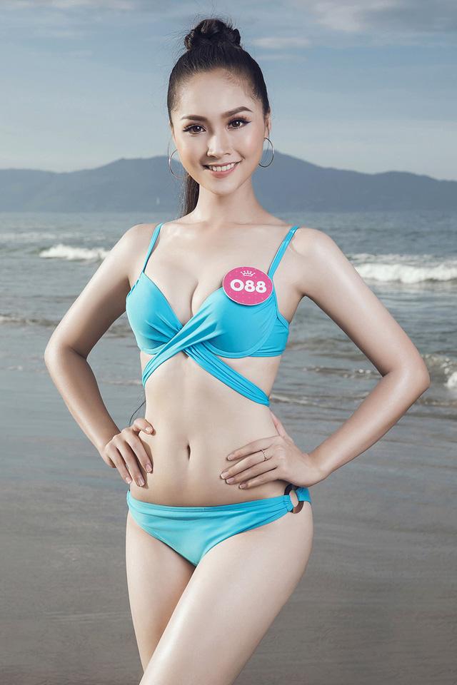 43 thí sinh Hoa hậu Việt Nam khoe bộ ảnh bikini trước đêm Chung kết - Ảnh 10.