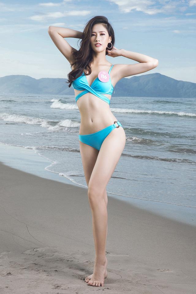 43 thí sinh Hoa hậu Việt Nam khoe bộ ảnh bikini trước đêm Chung kết - Ảnh 12.