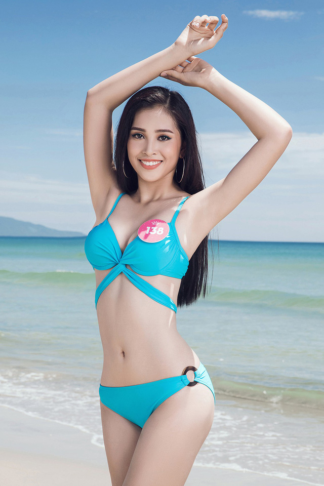 43 thí sinh Hoa hậu Việt Nam khoe bộ ảnh bikini trước đêm Chung kết - Ảnh 16.