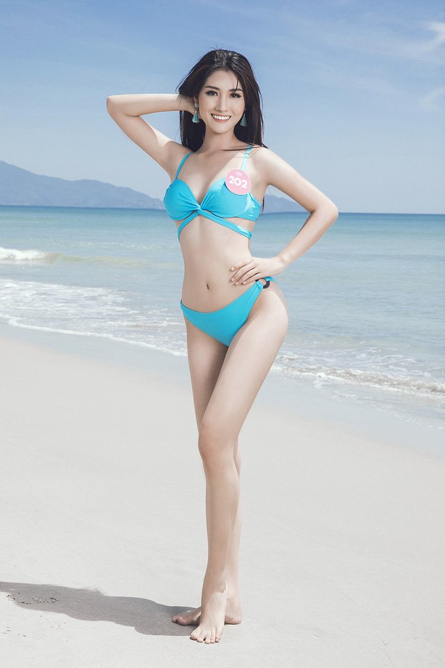 43 thí sinh Hoa hậu Việt Nam khoe bộ ảnh bikini trước đêm Chung kết - Ảnh 22.