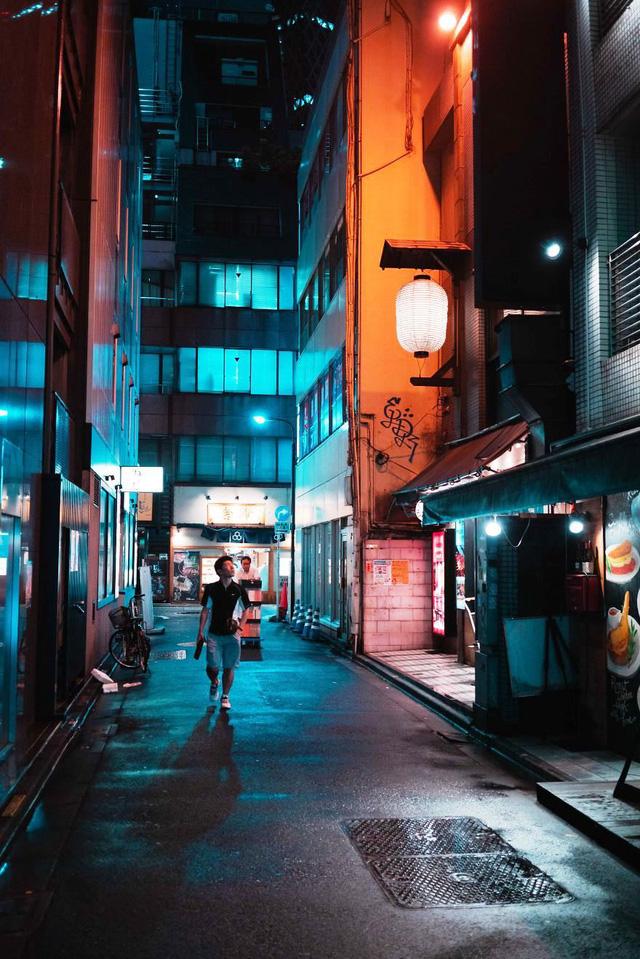 Thủ đô Tokyo, Nhật Bản rực rỡ về đêm - Ảnh 1.