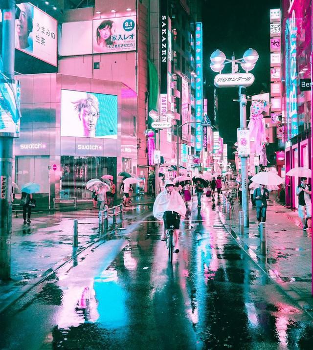 Thủ đô Tokyo, Nhật Bản rực rỡ về đêm - Ảnh 7.