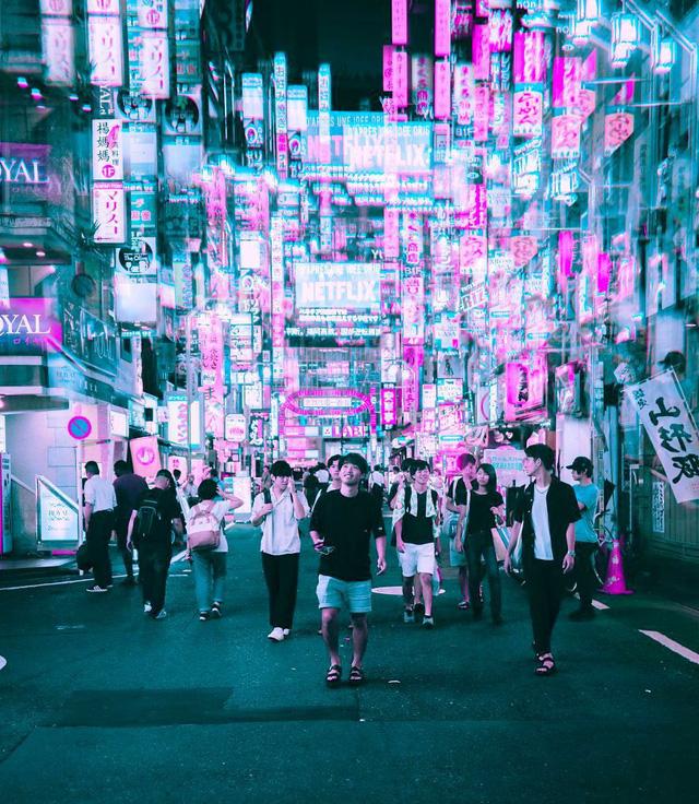 Thủ đô Tokyo, Nhật Bản rực rỡ về đêm - Ảnh 9.