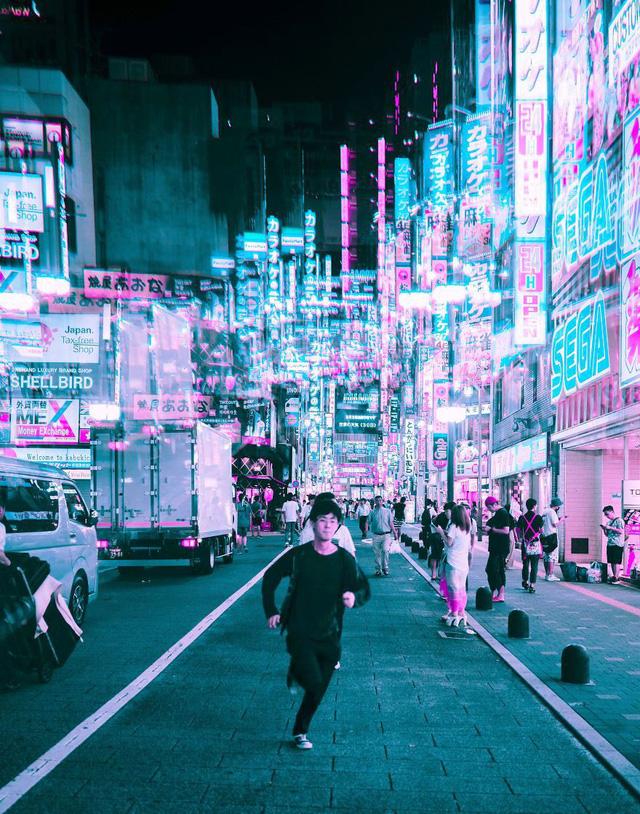 Thủ đô Tokyo, Nhật Bản rực rỡ về đêm - Ảnh 13.