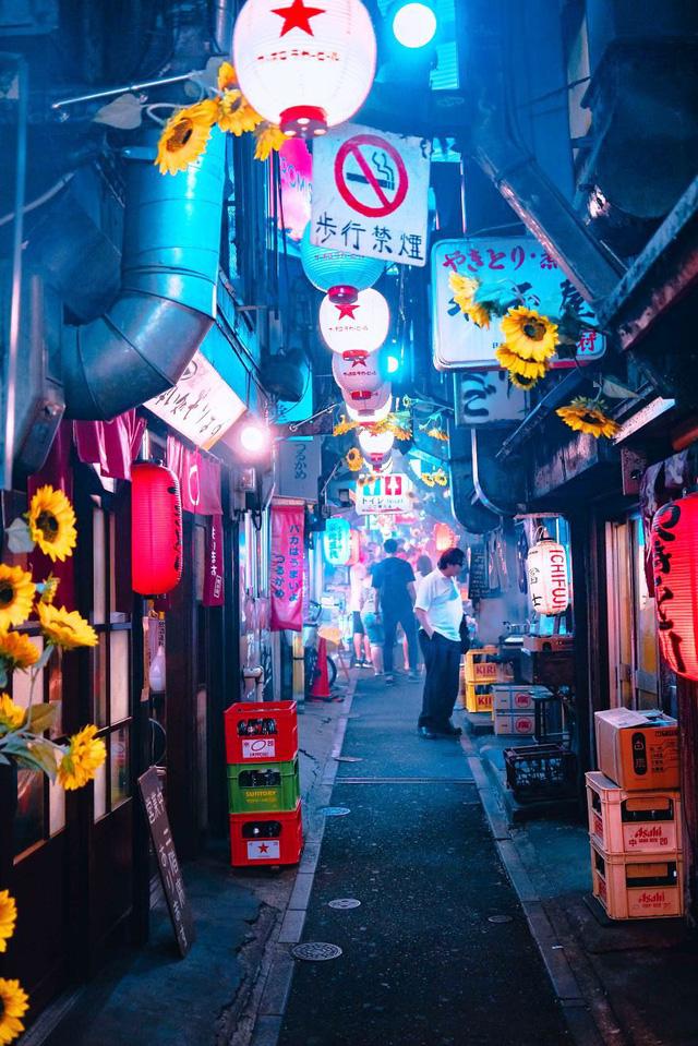 Thủ đô Tokyo, Nhật Bản rực rỡ về đêm - Ảnh 15.