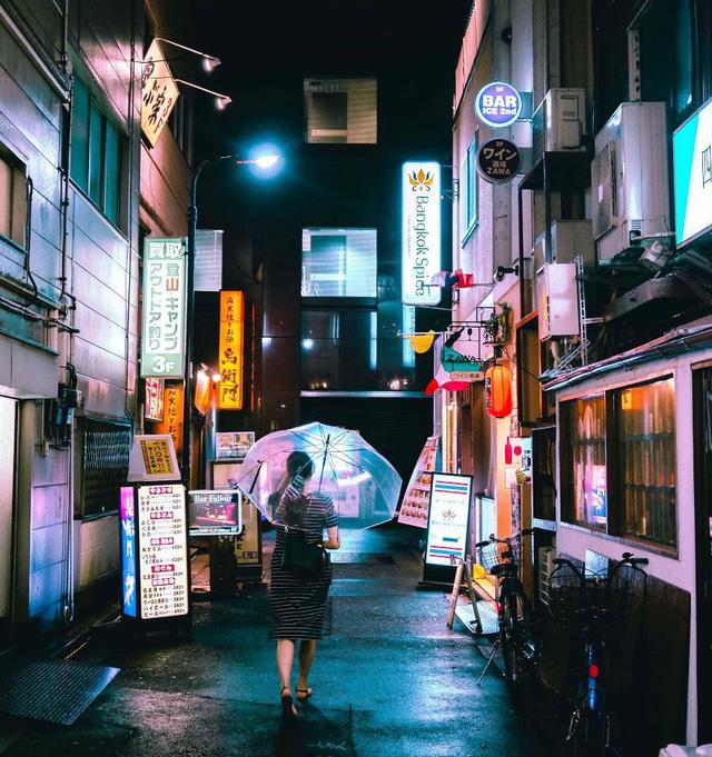 Thủ đô Tokyo, Nhật Bản rực rỡ về đêm - Ảnh 16.