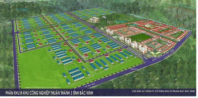 Khu công nghiệp Thuận Thành III, Bắc Ninh dự kiến hoàn thành vào năm 2019 - Ảnh 1.