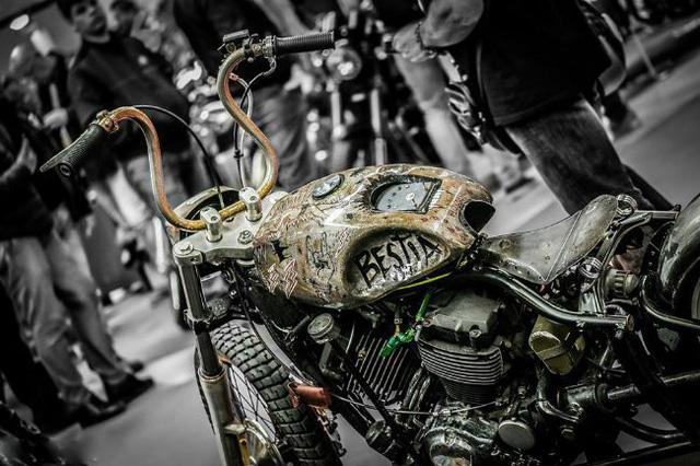Độc đáo những chiếc xe máy độ độc nhất vô nhị trên thế giới - ảnh 5