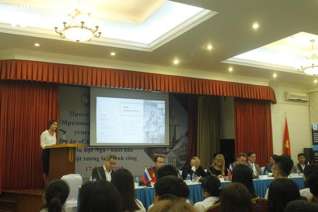 Triển lãm các trường đại học hàng đầu của Nga cuốn hút học sinh Việt - Ảnh 5.