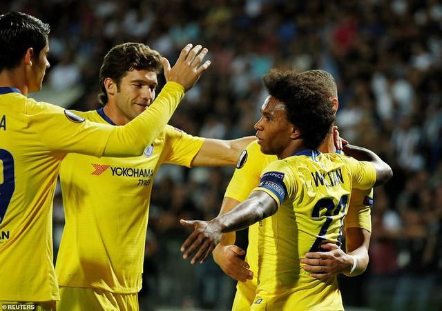 Kết quả bóng đá Europa League rạng sáng 21/9: Arsenal, Chelsea giành trọn 3 điểm! - Ảnh 1.