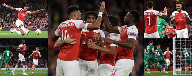 Kết quả bóng đá Europa League rạng sáng 21/9: Arsenal, Chelsea giành trọn 3 điểm! - Ảnh 2.
