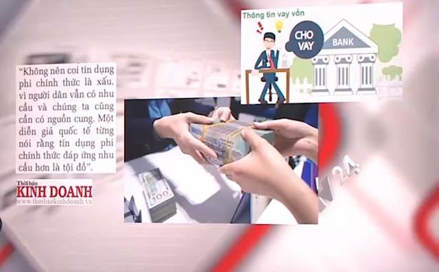 Tín dụng đen và cái giá của đồng tiền - Ảnh 1.