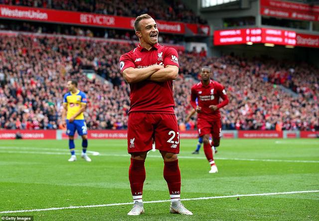 VIDEO Liverpool 3-0 Southampton: Chiến thắng thứ 6 liên tiếp để lấy lại ngôi đầu - Ảnh 2.