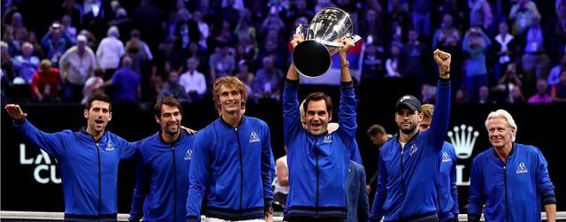 Federer và Zverev thắng liền 2 trận, đội châu Âu bảo vệ thành công chức vô địch Laver Cup - Ảnh 1.