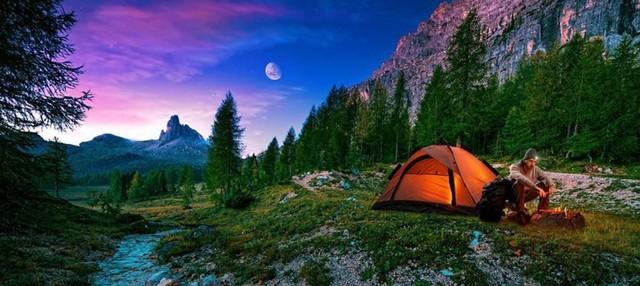 Lời khuyên hữu ích khi đi cắm trại trong rừng - Ảnh 4.