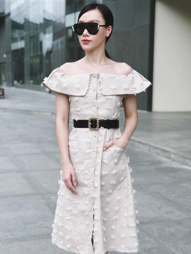 Gu thời trang thanh lịch của MC Minh Hà - Ảnh 6.
