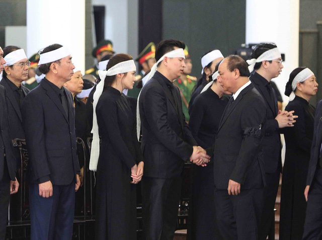 Hình ảnh Lãnh đạo Đảng, Nhà nước viếng Chủ tịch nước Trần Đại Quang - Ảnh 8.