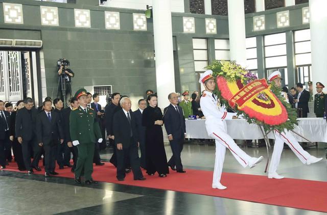 Hình ảnh Lãnh đạo Đảng, Nhà nước viếng Chủ tịch nước Trần Đại Quang - Ảnh 10.