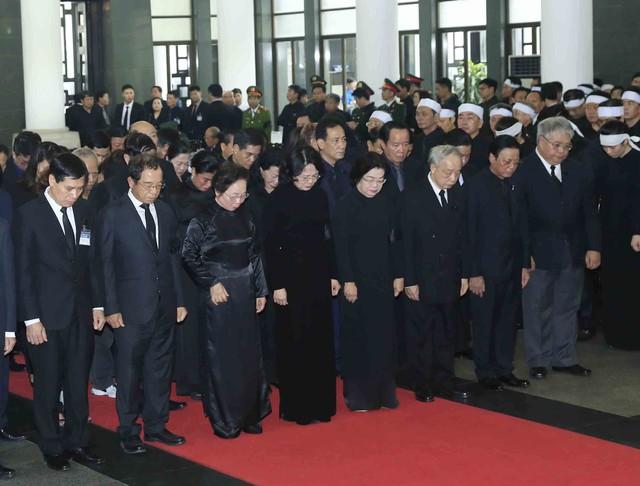 Hình ảnh Lãnh đạo Đảng, Nhà nước viếng Chủ tịch nước Trần Đại Quang - Ảnh 14.