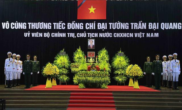 Cử hành trọng thể Lễ viếng Chủ tịch nước Trần Đại Quang - Ảnh 1.