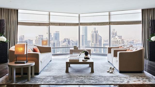 Khám phá sự xa hoa bên trong tòa nhà cao nhất thế giới ở Dubai - Ảnh 3.