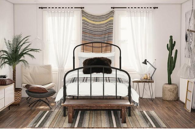 Phòng ngủ mang phong cách Rustic - Ảnh 3.
