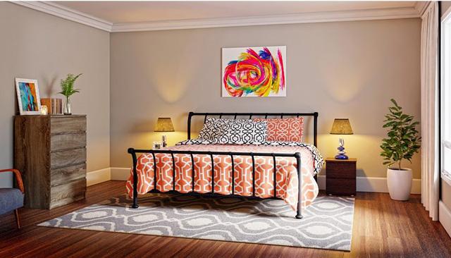 Phòng ngủ mang phong cách Rustic - Ảnh 9.