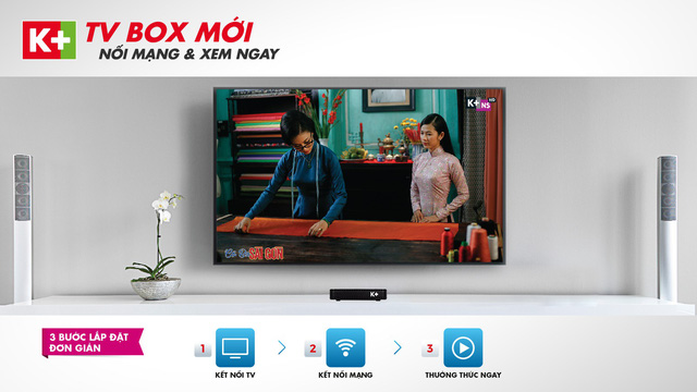 K+ ra mắt đầu xem truyền hình qua Internet K+ TV Box - Ảnh 1.