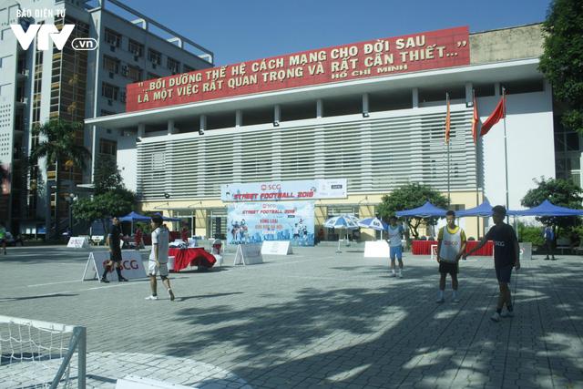 Tràn đầy hứng khởi giải Bóng đá đường phố SCG Street Football 2018 - Ảnh 8.