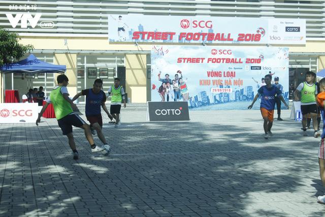 Tràn đầy hứng khởi giải Bóng đá đường phố SCG Street Football 2018 - Ảnh 10.
