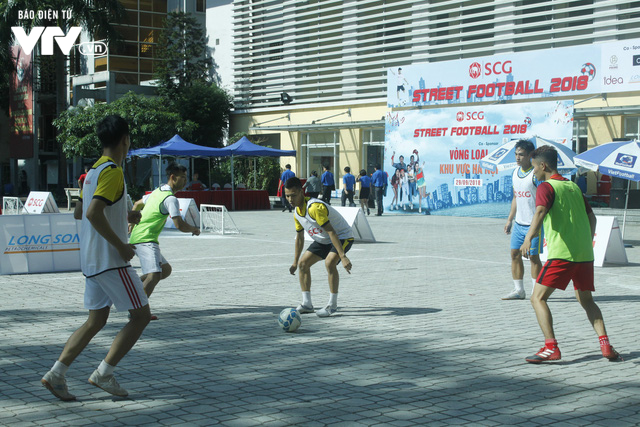 Tràn đầy hứng khởi giải Bóng đá đường phố SCG Street Football 2018 - Ảnh 12.