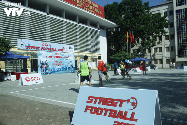 Tràn đầy hứng khởi giải Bóng đá đường phố SCG Street Football 2018 - Ảnh 14.