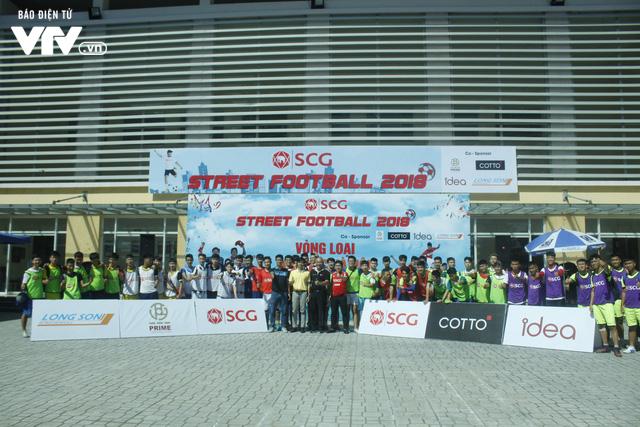 Tràn đầy hứng khởi giải Bóng đá đường phố SCG Street Football 2018 - Ảnh 17.