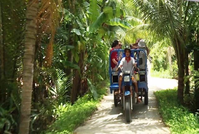 Du lịch dưới tán dừa - Tour khám phá mới ở miền Tây - Ảnh 1.
