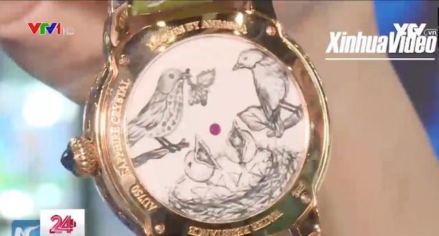 Triển lãm đồng hồ độc đáo ở Hong Kong, Trung Quốc - Ảnh 3.