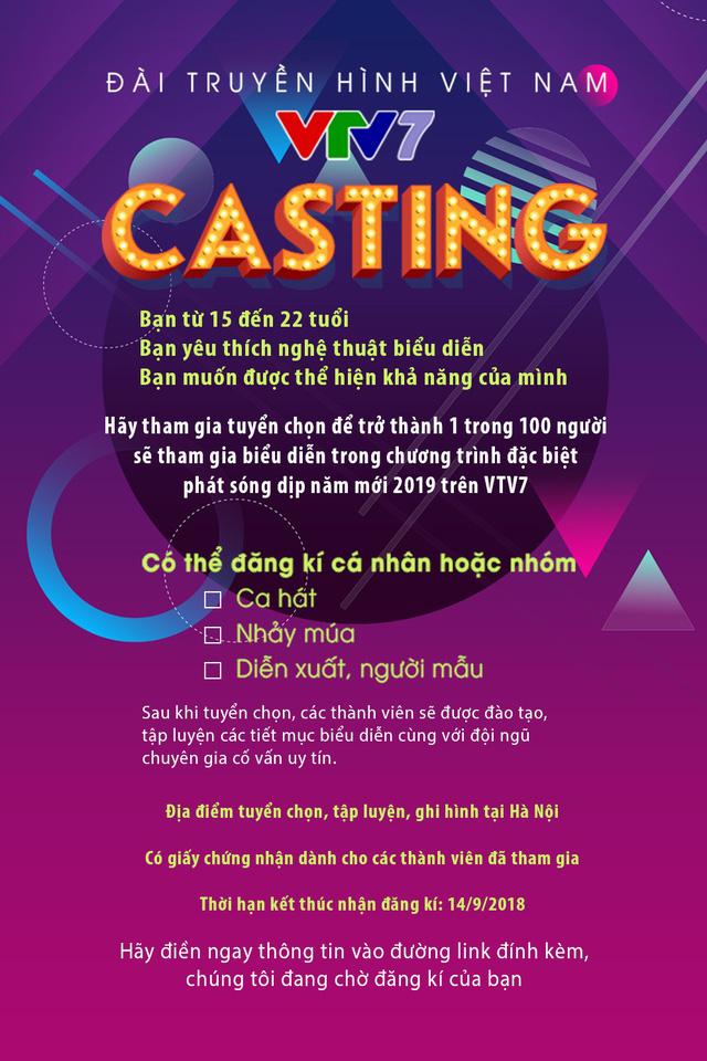 VTV7 casting chương trình Hòa ca 2019 - Ảnh 1.