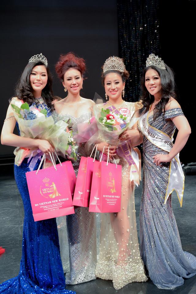 Hoa hậu Việt Nam thế giới 2018 tìm ra những ngôi vị xứng đáng - Ảnh 1.