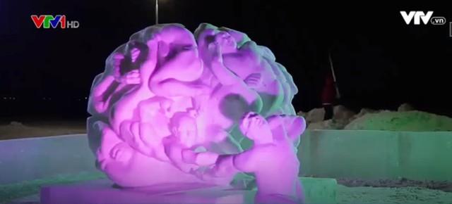 Lễ hội điêu khắc trên băng tại Nga - ảnh 3