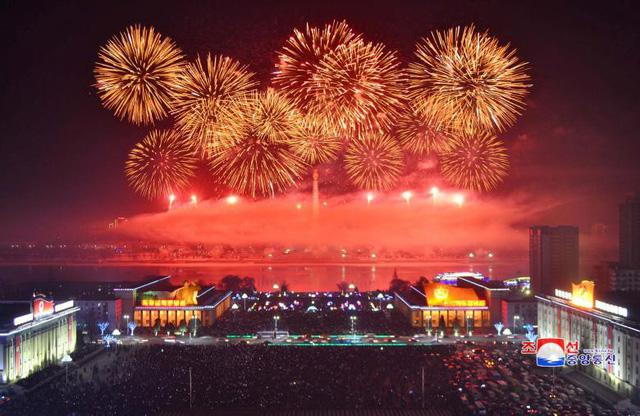 Những hình ảnh tuyệt đẹp tại các quốc gia chào đón năm mới 2018 - Ảnh 4.