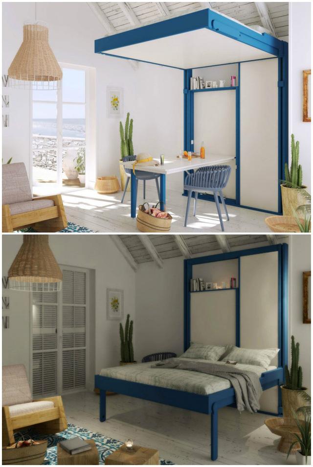 Những ý tưởng thiết kế giường siêu độc làm mới không gian trong nhà - Ảnh 9.