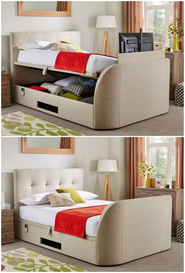Những ý tưởng thiết kế giường siêu độc làm mới không gian trong nhà - Ảnh 2.