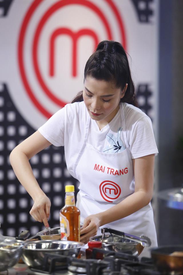 Ca sĩ Kiwi Ngô Mai Trang tự tin sẽ giành ngôi Quán quân Vua đầu bếp - Ảnh 1.