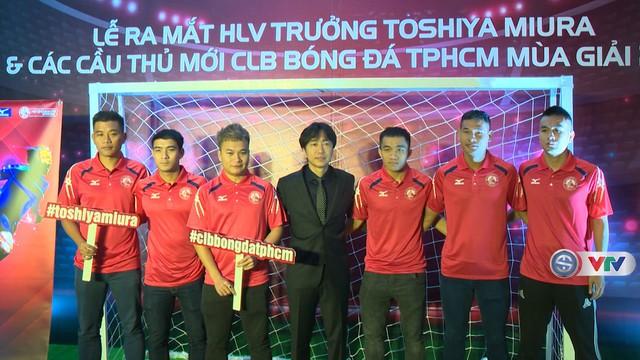HLV Miura ra mắt CLB TP Hồ Chí Minh - Ảnh 1.