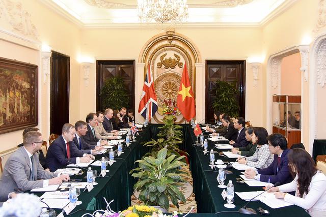 Thông cáo chung Đối thoại Chiến lược Việt Nam – Anh lần thứ 6 - Ảnh 1.
