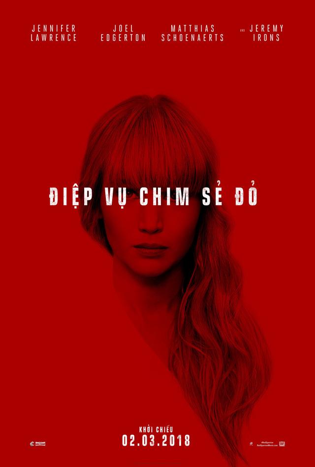 Jennifer Lawrence hóa điệp viên gợi cảm trong phim Red Sparrow - Ảnh 5.